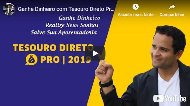 Curso Tesouro Direto Pro 2019
