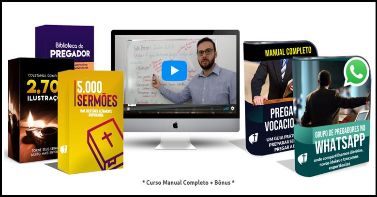 Conheça o Curso Completo Manual do Pregador Vocacionado
