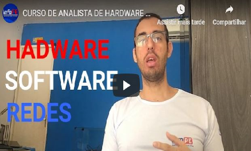 Curso de Analista de Hardware, Software e Redes