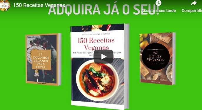 ebook 150 receitas veganas