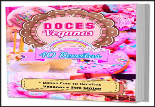 40 receitas de doces veganos