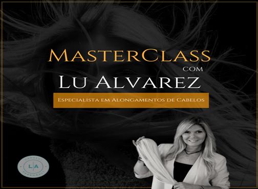 Curso Mega Hair By Luciana Alvarez - A Cabeleireira das Celebridades