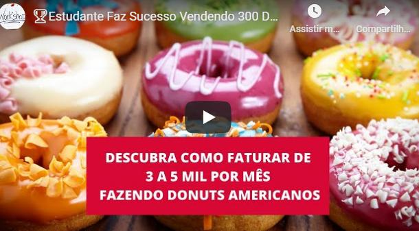 Ganhar Dinheiro Com Donuts Americanos Gourmet