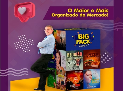 Big Pack Designer - Design de Sucesso