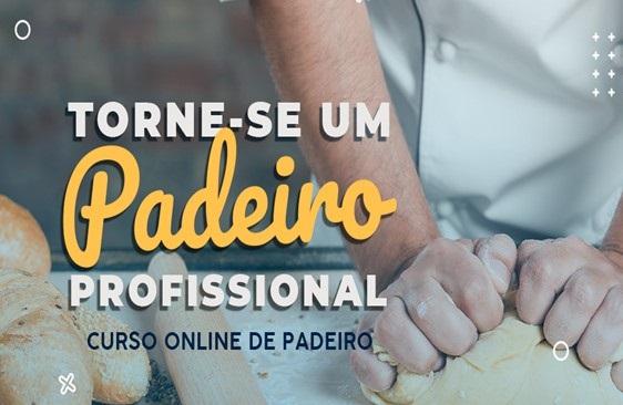 curso online de padeiro