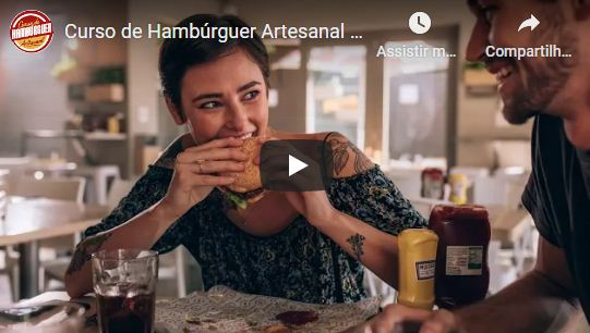 Curso de Hambúrguer Artesanal Vegetariano